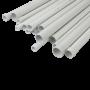 Tub PVC rigid D20, 750N, Halogen free, 3m - DLX TRP-802-20