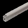 Canal cablu perforat 40x40 mm, cu capac, 2m - DLX PVCP-407-40